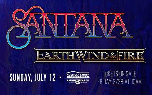 Santana with special guests Earth, Wind & Fire