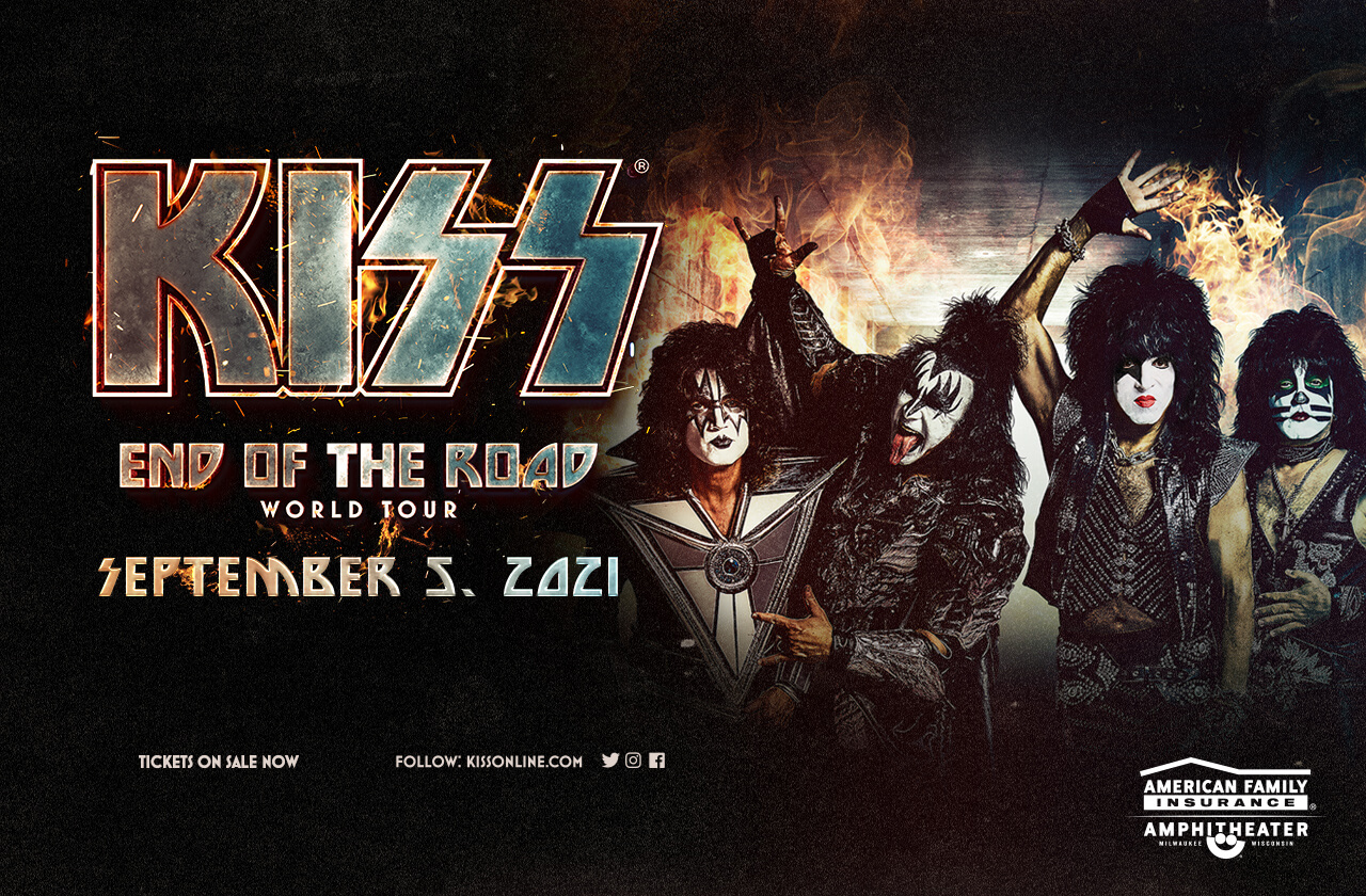 KISS : End of the Road with special guest David Lee Roth